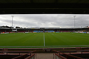 Glanford Park before the Sky Bet League 1 match between Scunthorpe United and Blackpool at Glanford Park, Scunthorpe, England on 5 September 2015. Photo by Ian Lyall.