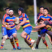 Premier Rugby union game played between Upper Hutt v Tawa , at  Maidstone Park,Upper Hutt, Wellington, New Zealand, on 27 May 2017.  Tawa won 37-12.