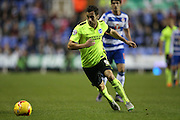 Brighton striker, Sam Baldock (9) during the Sky Bet Championship match between Reading and Brighton and Hove Albion at the Madejski Stadium, Reading, England on 31 October 2015.