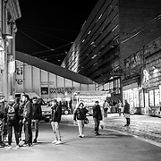 Rome - Termini Station boys, including many minors mostly Egyptians, North Africans find themselves daily in the street around Termini Station.