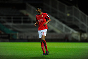Rohan Ince (23) of Swindon Town during the EFL Sky Bet League 1 match between Swindon Town and Sheffield Utd at the County Ground, Swindon, England on 14 March 2017. Photo by Graham Hunt.