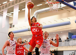 Bristol Flyers' Roy Owen scores a basket  - Photo mandatory by-line: Joe Meredith/JMP - Mobile: 07966 386802 - 18/04/2015 - SPORT - Basketball - Bristol - SGS Wise Campus - Bristol Flyers v Leeds Force - British Basketball League