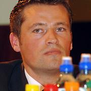 NLD/Alphen aan de Rijn/20060308 - Presentatie nieuwe wielerploeg Leontien van Moorsel, AA Drink Cycling team, Michael Zijlaard