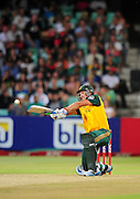 David Wiese , South Africa during the 2015 KFC T20 International Series cricket match between South Africa and West Indies at the Kingsmead Stadium in Durban on the 14th of January 2015<br /> <br /> ©Sabelo Mngoma/BackpagePix