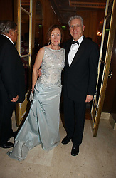 News reader NICHOLAS OWEN and his wife BRENDA at a ball in aid of Diema's Dream - a foundation for Russian Disabled Children held at The Four Seasons Hotel, Hamilton Place, London on 24th November 2006.<br /><br />NON EXCLUSIVE - WORLD RIGHTS