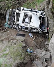 Napier-Six injured after van crashes off SH58, Napier Taupo Road