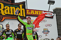James Hinchcliffe, Iowa Corn Indy 250, Iowa Speedway, Newton, IA USA 06/23/13