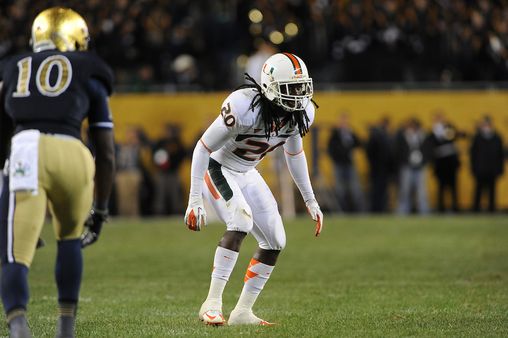 2012 Miami Hurricanes Football vs Notre Dame at Soldier Field