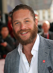 Tom Hardy   arriving at the The Prince's Trust and L'Oréal Paris Celebrate Success Awards in London, Wednesday, 14th March 2012. Photo by: Stephen Lock / i-Images<br /> File Photo : Tom Hardy in talks to play both Kray Twins.<br /> Tom Hardy is rumoured to be in line to play the notorious Kray twins, Reginald and Ronald, in an upcoming biopic.<br /> Photo filed Tuesday 25th Feb 2014.