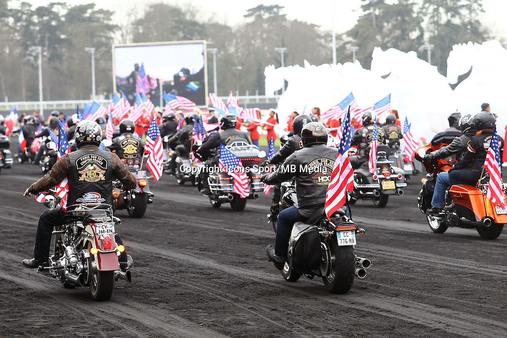 Defile Moto- 25.01.2015 - Prix d'Amerique Opodo 2015<br />