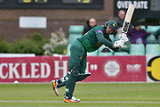Michael Lumb clipping through the leg side during the Royal London 1 Day Cup match between Worcestershire County Cricket Club and Nottinghamshire County Cricket Club at New Road, Worcester, United Kingdom on 27 April 2017. Photo by Simon Trafford.