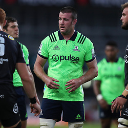 DURBAN, SOUTH AFRICA - MAY 05: Alex Ainley of the Pulse Energy Highlanders during the Super Rugby match between Cell C Sharks and Highlanders at Jonsson Kings Park Stadium on May 05, 2018 in Durban, South Africa. (Photo by Steve Haag/Gallo Images)