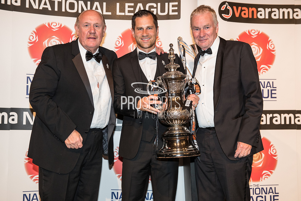 Harrogate Town, NL North during the National League Gala Awards Evening at Celtic Manor Resort, Newport, South Wales on 9 June 2018. Picture by Shane Healey.