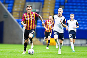 *** during the EFL Trophy match between Bolton Wanderers and Bradford City at the University of  Bolton Stadium, Bolton, England on 3 September 2019.