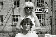 Couple. High Wycombe, UK. 1980s.