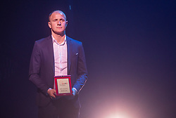 Senijad Ibricic during SPINS XI Nogometna Gala 2019 event when presented best football players of Prva liga Telekom Slovenije in season 2018/19, on May 19, 2019 in Slovene National Theatre Opera and Ballet Ljubljana, Slovenia. ,Photo by Urban Meglic / Sportida