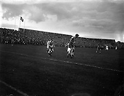 A477 - 1957 Dublin City Cup Final: Drumcondra v Shamrock Rovers at Dalymount Park, Dublin.
