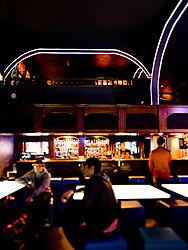Interior of Ground Kontrol, a classic arcade and bar in Portland, OR