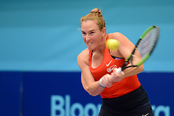 July 16, 2018 - Washington D.C, United States - MADISON BRENGLE in World Team Tennis action for the Washington Kastles. (Credit Image: © Christopher Levy via ZUMA Wire)