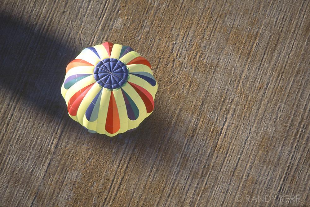 Balloon in the field