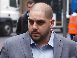 Derek Rose  arrives at the Southwark Crown court for sentencing after he was found guilty of trying to blackmail his former girlfriend Tamara Ecclestone, the daughter of  F1 suprimo Bernier Ecclestone, Tuesday Feb.26, 2013. Photo by Max Nash / i-Images...Contact.Andrew Parsons: 00447545 311662.Stephen Lock:      00447860204379