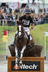 Tim Price, (NZL), Ringwood Sky Boy - Eventing Cross Country test - Alltech FEI World Equestrian Games™ 2014 - Normandy, France.<br /> © Hippo Foto Team - Leanjo de Koster<br /> 31/08/14