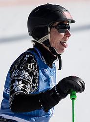 11.02.2015, Golden Peak Stadion, Vail, USA, FIS Weltmeisterschaften Ski Alpin, Legendenrennen, im Bild Annemarie Moser-Proell // Annemarie Moser-Proell during the Korbel Legends of Skiing Race of FIS Ski World Championships 2015 at the Golden Peak Stadium in Beaver Vail, United States on 2015/02/11. EXPA Pictures © 2015, PhotoCredit: EXPA/ Johann Groder