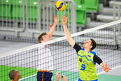 30-12-2019 SLO: Slovenia - Netherlands, Ljubljana<br /> Dejan Vinčić of Slovenia during friendly volleyball match between National Men teams of Slovenia and Netherlands
