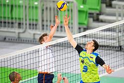 30-12-2019 SLO: Slovenia - Netherlands, Ljubljana<br /> Dejan Vinčić of Slovenia during friendly volleyball match between National Men teams of Slovenia and Netherlands