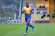 Hayden White of Mansfield Town (16) during the EFL Sky Bet League 2 match between Mansfield Town and Stevenage at the One Call Stadium, Mansfield, England on 18 November 2017. Photo by Mick Haynes.