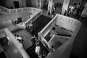 Photo by Michael R. Schmidt-Chicago, IL-March 21, 2015<br />Guests arrive for Loyola University Chicago School of Law's Barristers Ball held Saturday evening at the Chicago Cultural Center. Nearly 400 guests attended the annual event.