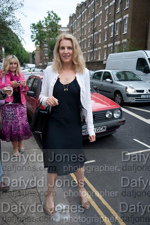 Gail Boglione, The Pimlico Road Summer party. London SW1. 9 June 2009