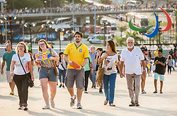 Supporters outside the Maracanã Stadium ahead of the opening ceremony of the Rio 2016 Summer Paralympics Games on September 7, 2016 in Maracanã Stadium, Rio de Janeiro, Brazil. Photo by Vid Ponikvar / Sportida