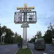 Donetsk city in eastern Ukraine