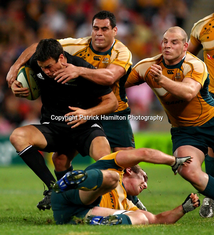 Anthony Boric.All Blacks v Australia Tri Nations Rugby Union Test Match. Suncorp Stadium ,Brisbane. Australia,Saturday 13 September 2008 .