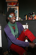 Saul Williams at The Afro-Punk Tour featuring Saul Williams held at The Blender Theater on October 21, 2009