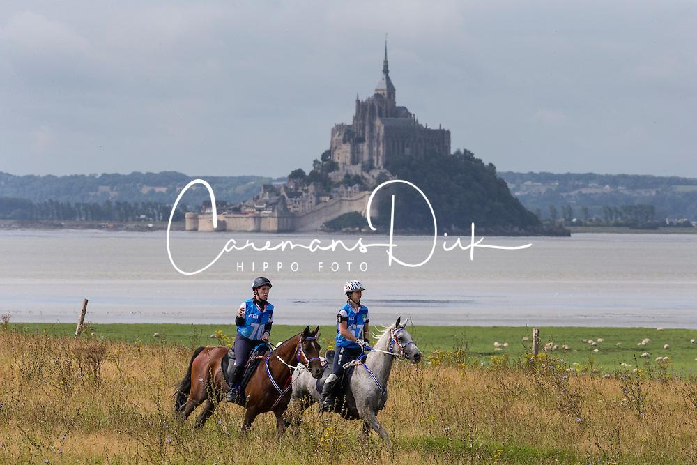Beth Langley, (GBR), HS Ametista, Anna Jane Williams, Crystal Wissam<br /> Alltech FEI World Equestrian Games™ 2014 - Normandy, France.<br /> © Hippo Foto Team - Leanjo de Koster<br /> 25/06/14