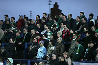 Fotball<br /> England 2004/2005<br /> Foto: SBI/Digitalsport<br /> NORWAY ONLY<br /> <br /> Macclesfield Town v Yeovil Town, Macclesfield. Coca Cola League Two. 05/02/2005. <br /> <br /> The Yeovil fans didn't have much to sing and dance about