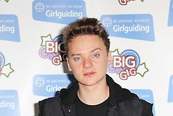 © Licensed to London News Pictures. 12/10/2013, UK. 5 Conor Maynard , Girlguiding BIG GIG, Wembley Arena, London UK, 12 October 2013. Photo credit : Richard Goldschmidt/Piqtured/LNP