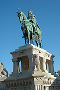 Monument of Prince Eugene of Savoy - The equestrian statue of Prince Eugene of Savoy is standing on the Danube terrace, in a prominent position, high above Budapest. The Neo-Baroque statue was made by sculptor József Róna for the town of Zenta.