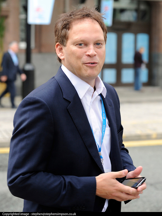 © Licensed to London News Pictures. 03/10/2011. MANCHESTER. UK. The Rt Hon Grant Shapps MP at The Conservative Party Conference at Manchester Central today, October 3, 2011. Photo credit:  Stephen Simpson/LNP