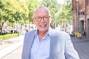 Ketelhuis, Amsterdam. Uitreiking Zilvereb Nipkowschijf 2018. Op de foto: Frans Mulder