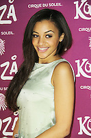 Amal Fashanu, Kooza, Cirque Du Soleil, VIP night, Royal Albert Hall, London, UK. January 08, 2013. (Photo by Richard Goldschmidt)