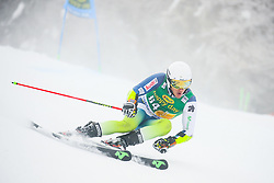 Juan Del Campo of Spain competes during 1st run of Men's GiantSlalom race of FIS Alpine Ski World Cup 57th Vitranc Cup 2018, on March 3, 2018 in Kranjska Gora, Slovenia. Photo by Ziga Zupan / Sportida