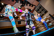 Japanska proffswrestlern Nanae Takahashi brottas i Hakata, Japan. Hon innehar flera v&auml;rldsm&auml;startitlar och har brottats f&ouml;r All Japan Women's Pro-Wrestling och Pro Wrestling Sun<br />