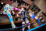 Japanska proffswrestlern Nanae Takahashi brottas i Hakata, Japan. Hon innehar flera v&auml;rldsm&auml;startitlar och har brottats f&ouml;r All Japan Women's Pro-Wrestling och Pro Wrestling Sun<br /> <br /> Nanae Takahashi is wrestling in Hakata, Japan. Nanae Takahashi is a Japanese professional wrestler. She has wrestled for prominent Japanese promotions All Japan Women's Pro-Wrestling and Pro Wrestling Sun, and has held multiple world championships.