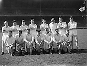 22/04/1962<br /> 04/22/1962<br /> 22 April 1962<br /> Gaelic Weekly S.F. Tournament final, Kildare v. Meath<br /> The Kildare team, who played Meath in the final at the Gaelic Weekly S.F. Tournament at Croke Park, Dublin, on 22 April 1962.