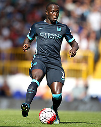Manchester City's Bacary Sagna - Mandatory byline: Robbie Stephenson/JMP - 07966 386802 - 26/09/2015 - FOOTBALL - White Hart Lane - London, England - Tottenham Hotspur v Manchester City - Barclays Premier League