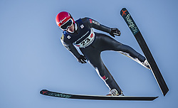 30.09.2018, Energie AG Skisprung Arena, Hinzenbach, AUT, FIS Ski Sprung, Sommer Grand Prix, Hinzenbach, im Bild Stephan Leyhe (GER) // Stephan Leyhe of Germany during FIS Ski Jumping Summer Grand Prix at the Energie AG Skisprung Arena, Hinzenbach, Austria on 2018/09/30. EXPA Pictures © 2018, PhotoCredit: EXPA/ JFK