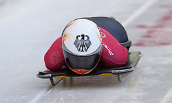 Germany's Tina Hermann during the Women's Skeleton practice on day three of the PyeongChang 2018 Winter Olympic Games in South Korea. PRESS ASSOCIATION Photo. Picture date: Monday February 12, 2018. See PA story OLYMPICS Skeleton. Photo credit should read: David Davies/PA Wire. RESTRICTIONS: Editorial use only. No commercial use.